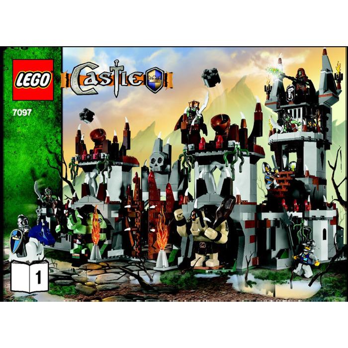 Lego Trolls Mountain Fortress Set 7097 Instructions Brick Owl
