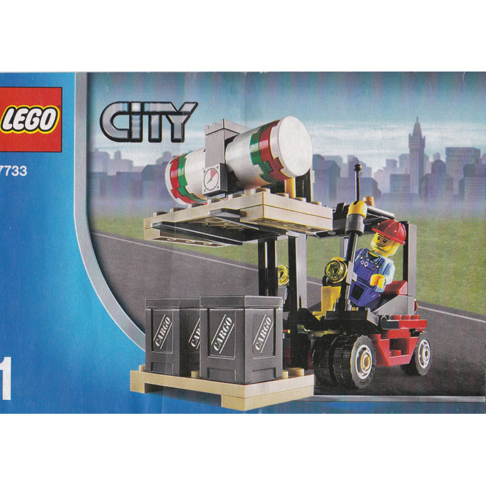 Lego Truck Forklift Set 7733 Instructions Brick Owl Lego