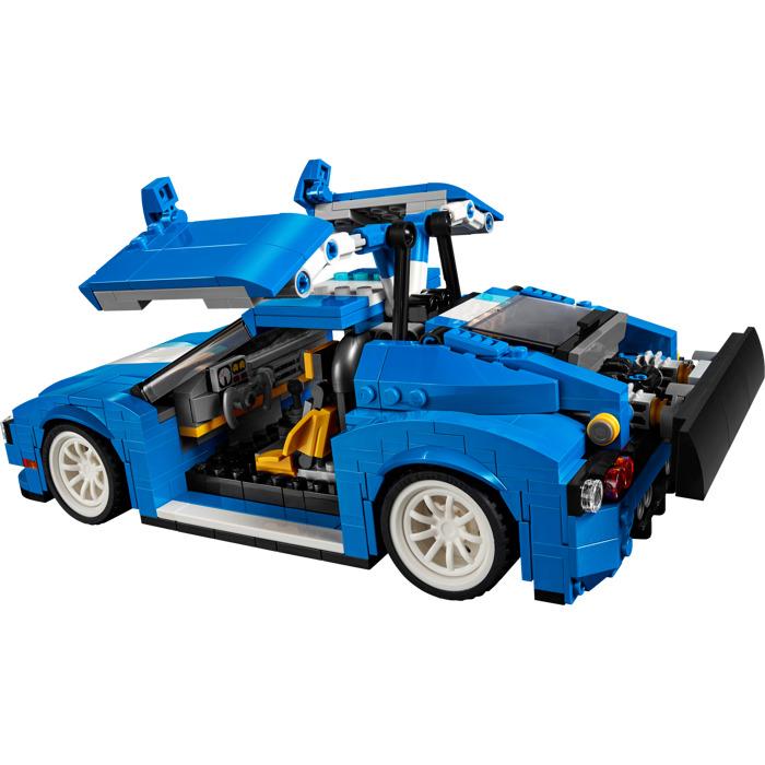 Lego Creator  In  Blue Car
