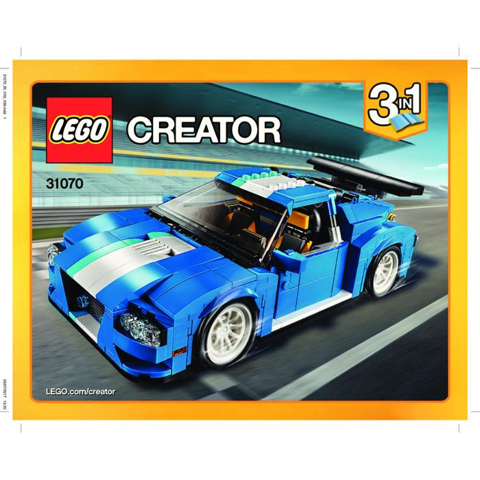 Lego Turbo Track Racer Set 31070 Instructions Brick Owl Lego