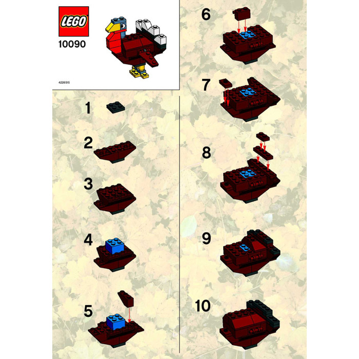 Lego Turkey Set 10090 Instructions Brick Owl Lego Marketplace