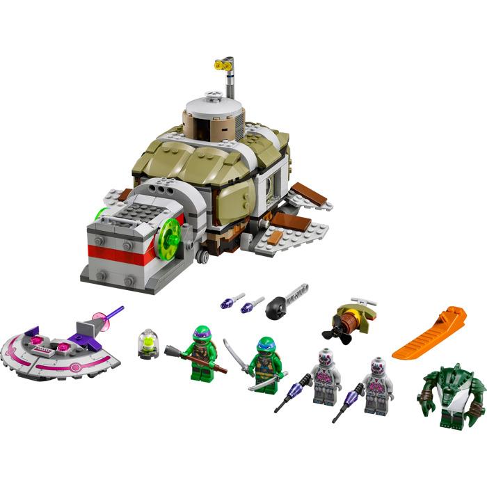 lego turtle sub undersea chase set 79121 brick owl. Black Bedroom Furniture Sets. Home Design Ideas