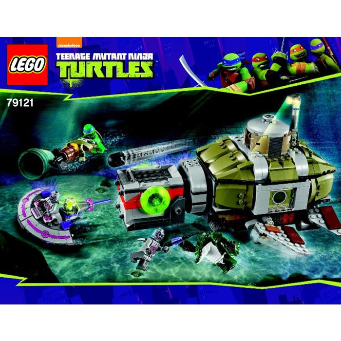 Lego Turtle Sub Undersea Chase Set 79121 Instructions Brick Owl