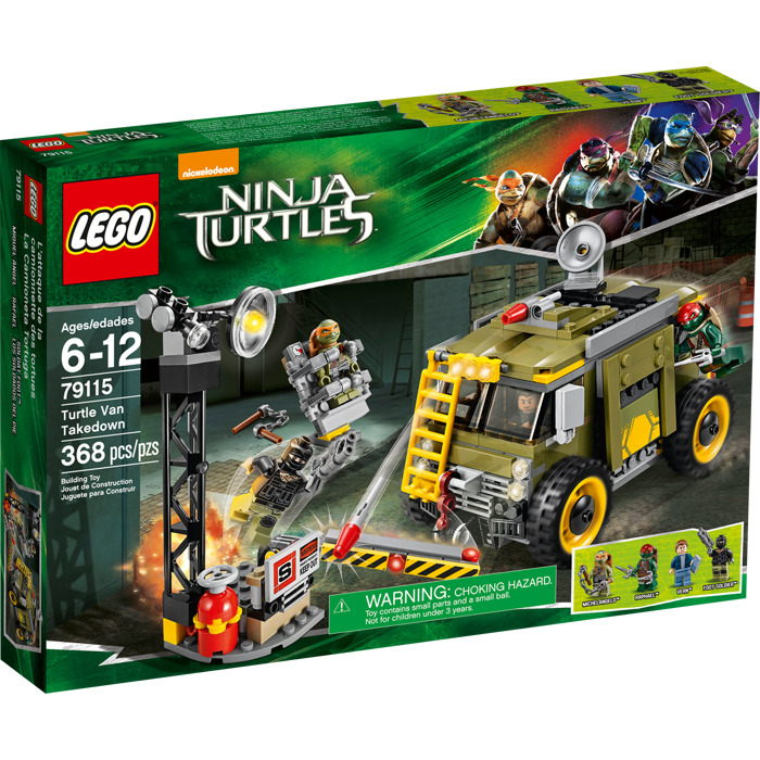 lego turtle van takedown set 79115 brick owl lego. Black Bedroom Furniture Sets. Home Design Ideas