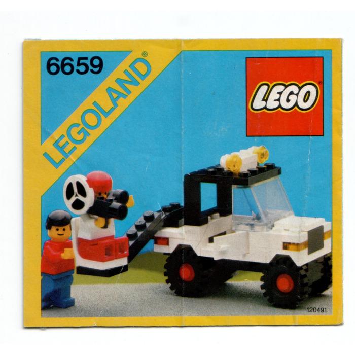 Lego Tv Camera Crew Set 6659 Instructions Brick Owl Lego Marketplace