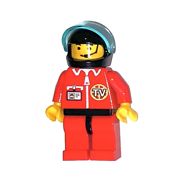 LEGO Town City Res-Q Minifigure with Headset