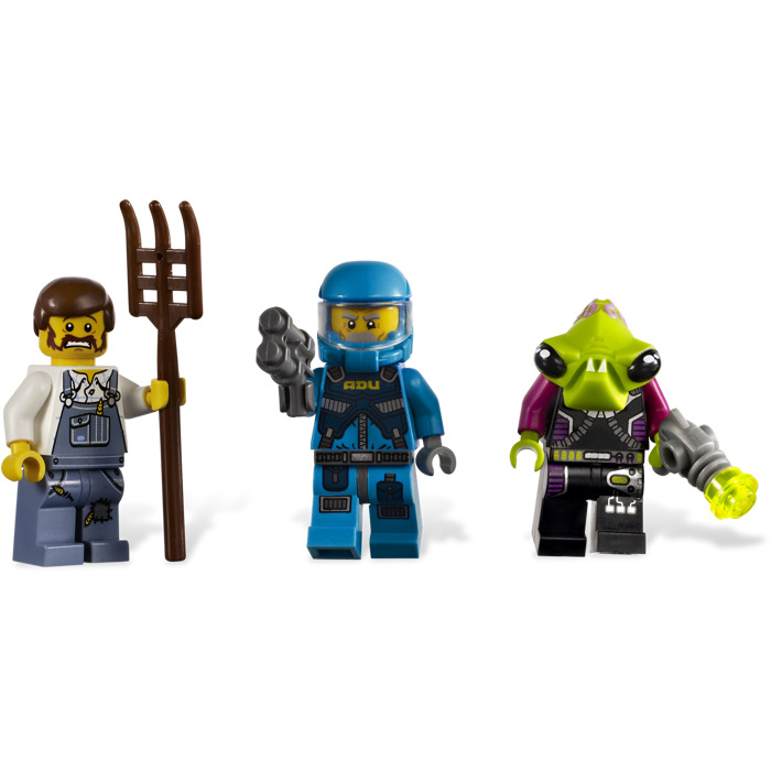 lego alien conquest alien striker instructions