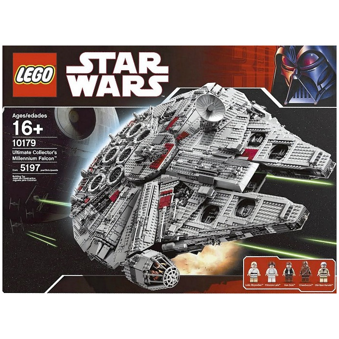 ucs millennium falcon instructions