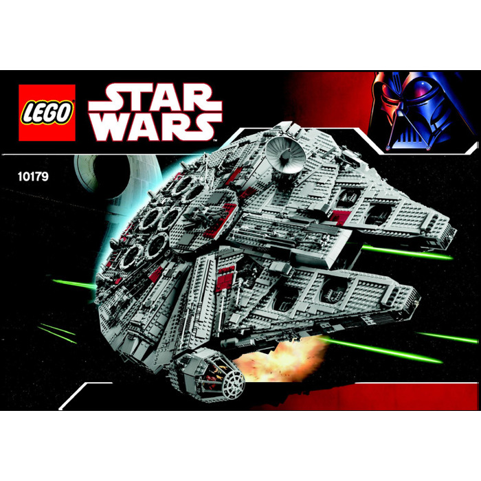 Lego Ultimate Collectors Millennium Falcon Set 10179 Instructions