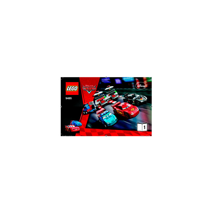 lego cars 3 instructions