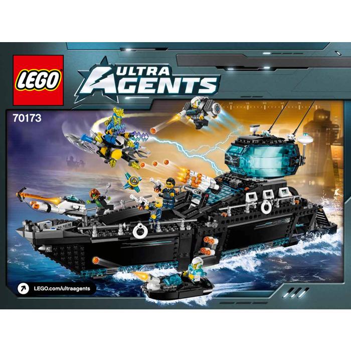 Lego Ultra Agents Ocean Hq Set 70173 Instructions Brick Owl Lego