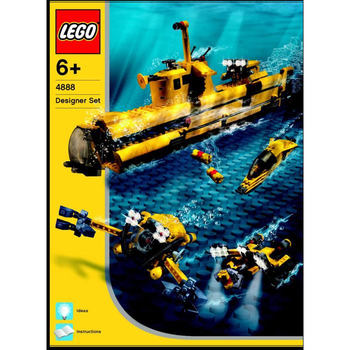 Lego Underwater Exploration Set 4888 Instructions Brick Owl Lego