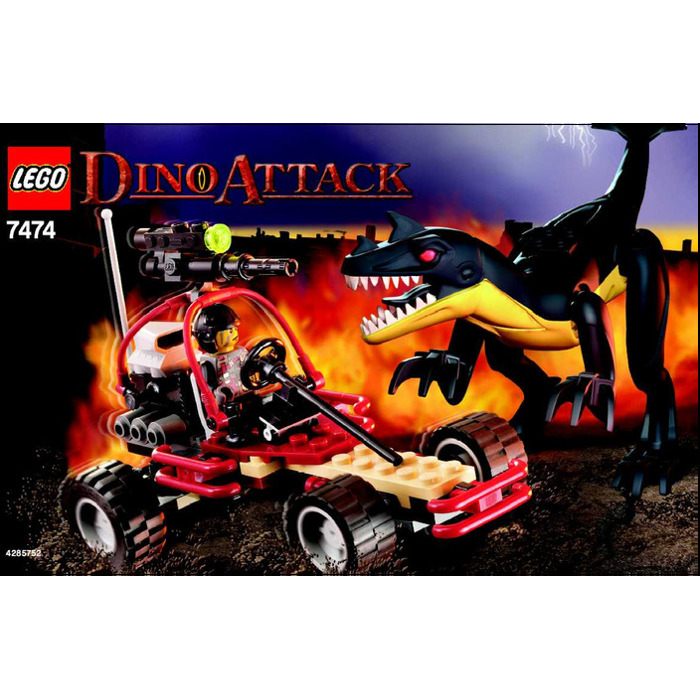 Lego Urban Avenger Vs Raptor Set 7474 Instructions Brick Owl