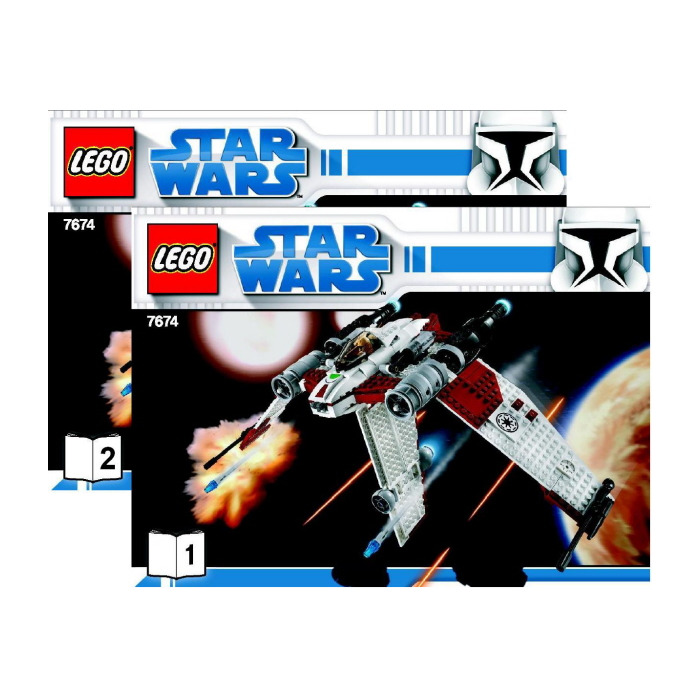 Lego Star Wars Set 75035 Instructions