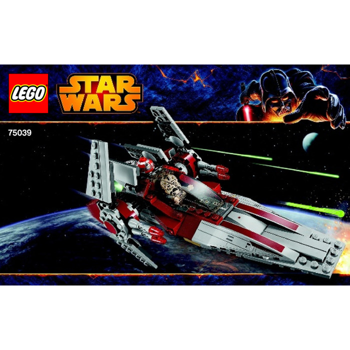 Lego V Wing Starfighter Set 75039 Instructions Brick Owl Lego