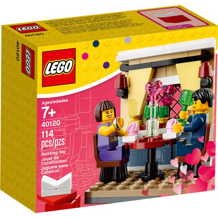 Schön LEGO Valentineu0027s Day Dinner Set 40120 Packaging