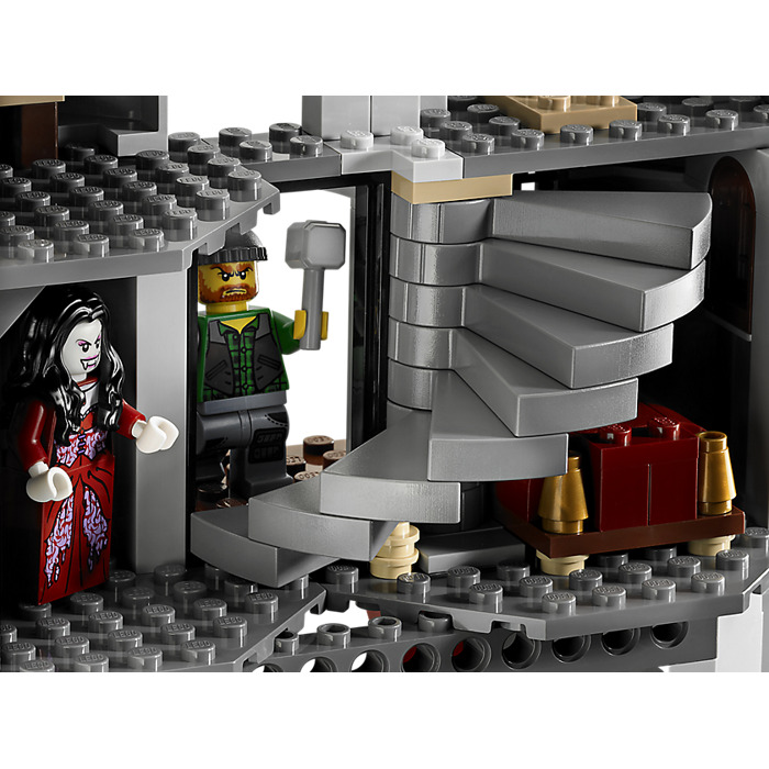 lego monster fighters vampyre castle instructions