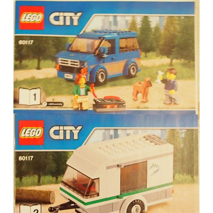 Lego Van Caravan Set 60117 Instructions Brick Owl Lego Marketplace