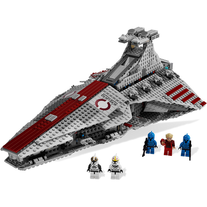 Lego Venator Class Republic Attack Cruiser Set 8039 Brick Owl