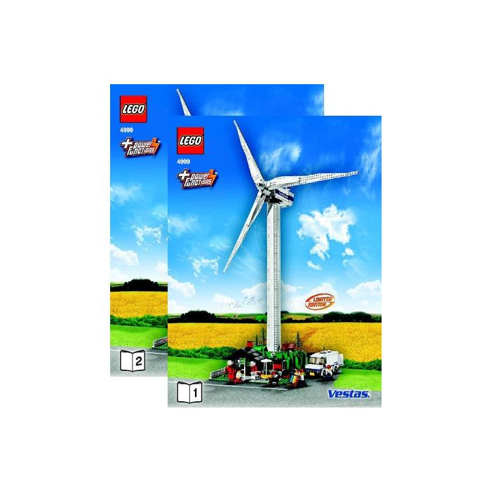 LEGO Vestas Wind Turbine Set 4999 Instructions | Brick Owl