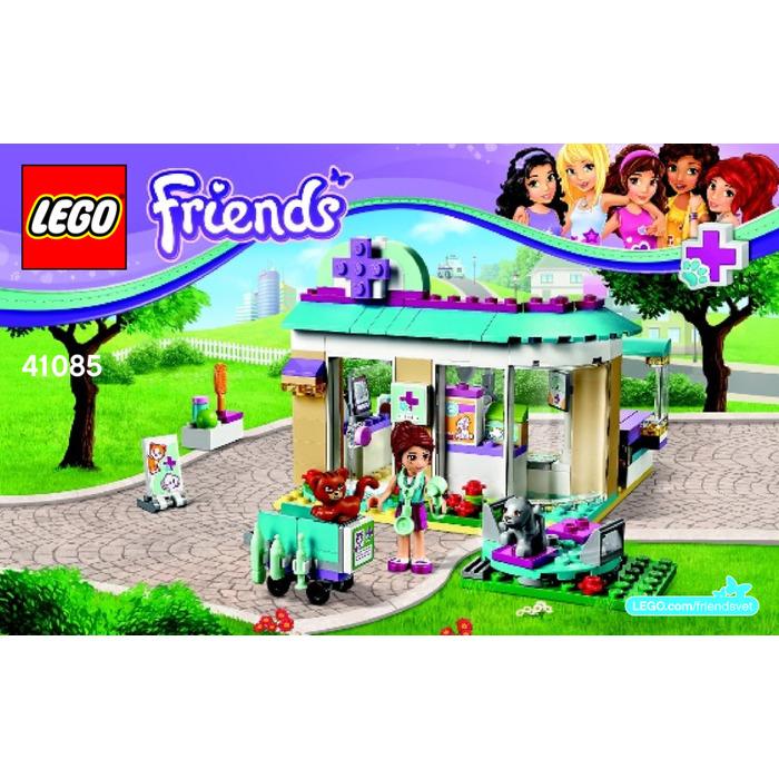 Lego Vet Clinic Set 41085 Instructions Brick Owl Lego Marketplace
