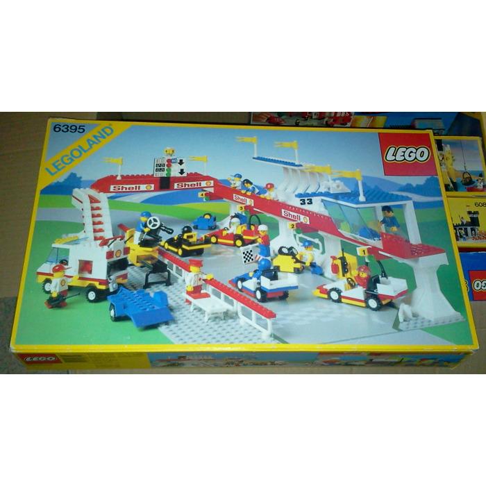 LEGO Victory Lap Raceway Set 6395 Packaging