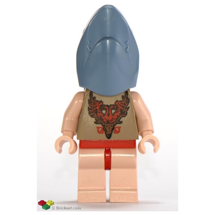 lego viktor krum in shark transformation minifigure