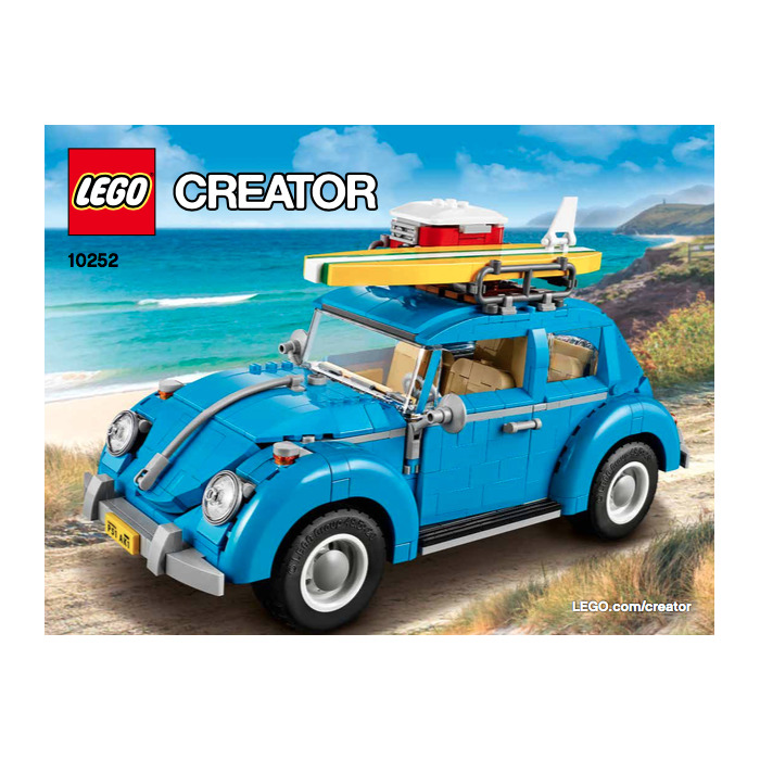 lego vw beetle instructions