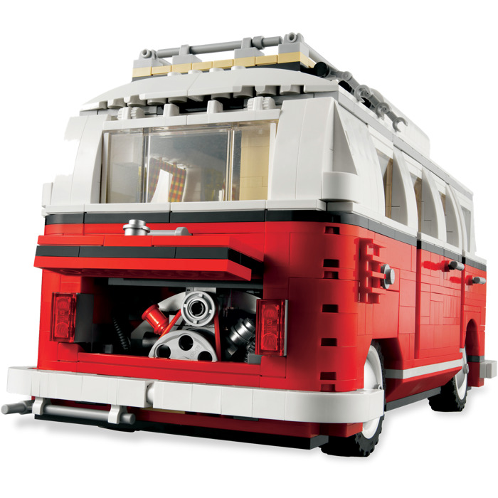 lego volkswagen t1 camper van set 10220 brick owl lego. Black Bedroom Furniture Sets. Home Design Ideas