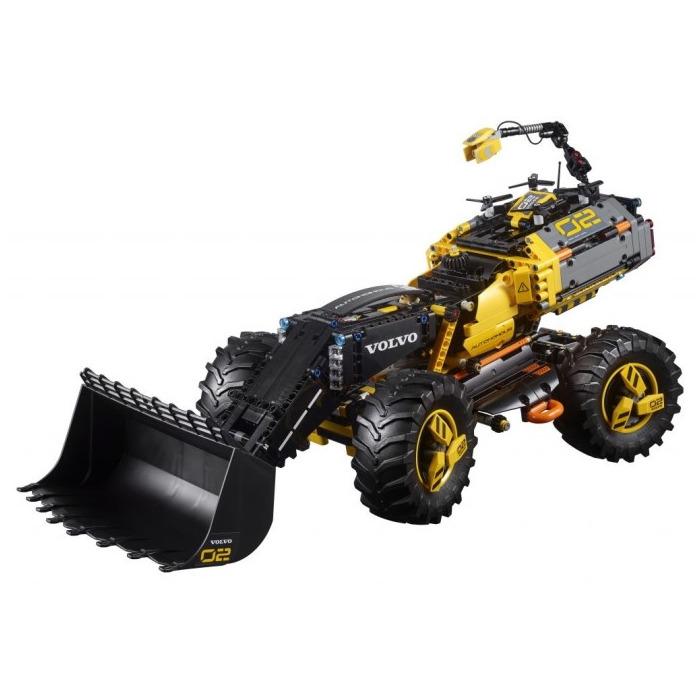 LEGO Volvo Concept Wheel Loader ZEUX Set 42081 | Brick Owl - LEGO Marketplace