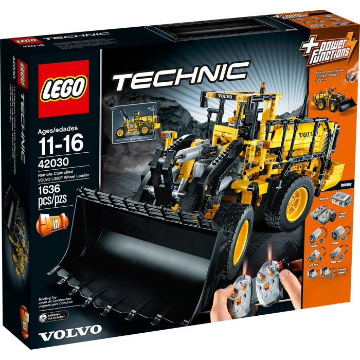 Uitgelezene LEGO Volvo L350F Wheel Loader Set 42030 | Brick Owl - LEGO Marketplace DD-89