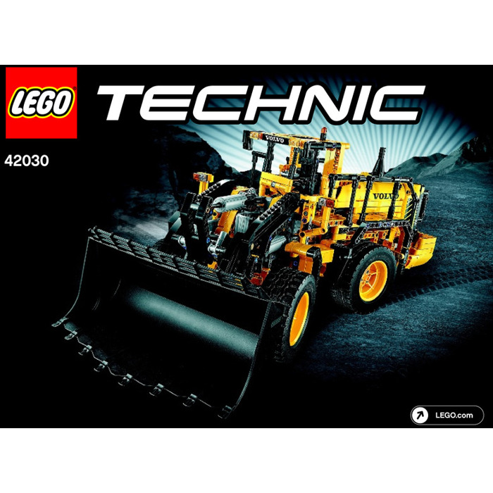 lego volvo l350f wheel loader set 42030 instructions. Black Bedroom Furniture Sets. Home Design Ideas