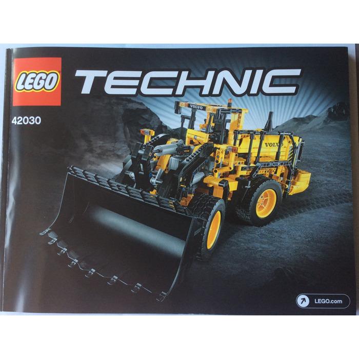 Lego Volvo L350f Wheel Loader Set 42030 Instructions Brick Owl