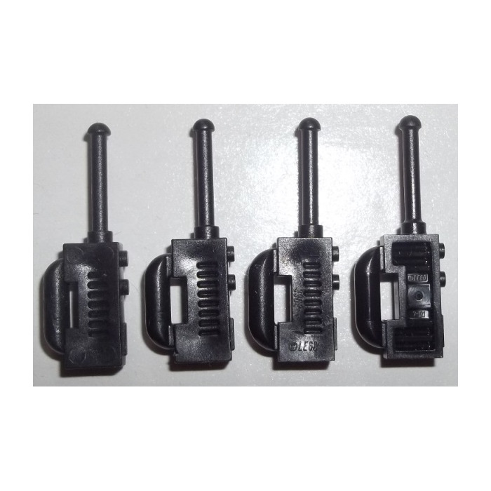 Black LEGO Walkie Talkies Lot 10