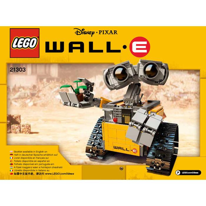 Lego Wall E Set 21303 Instructions Brick Owl Lego Marketplace