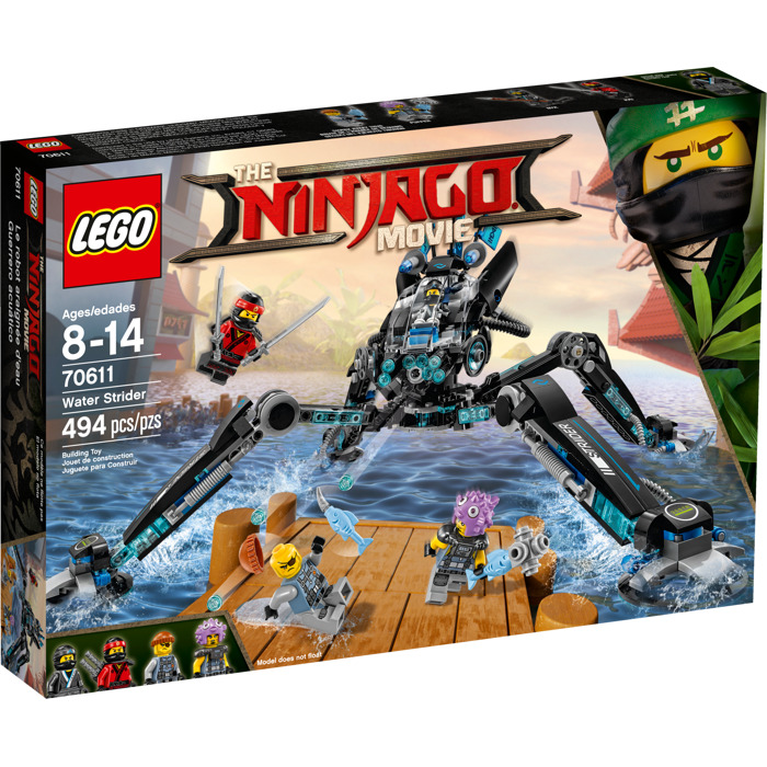 Lego Shark Toys For Boys : Lego water strider set brick owl marketplace