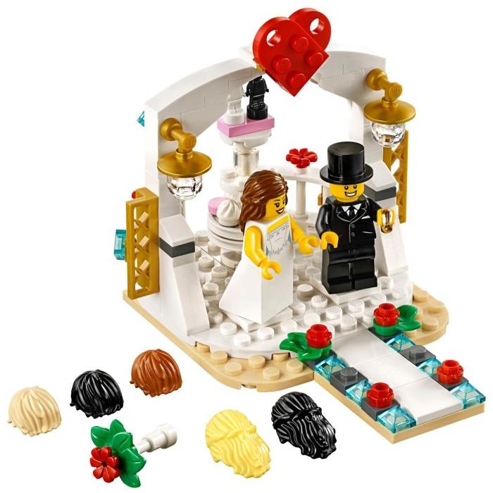 lego wedding favor set 2018 40197 brick owl lego. Black Bedroom Furniture Sets. Home Design Ideas