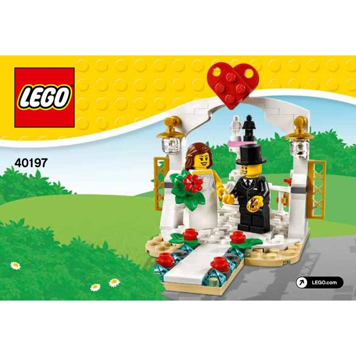 LEGO Wedding Favor Set 2018 40197 Instructions  sc 1 st  Brick Owl & LEGO Wedding Favor Set 2018 40197 Instructions | Brick Owl - LEGO ...