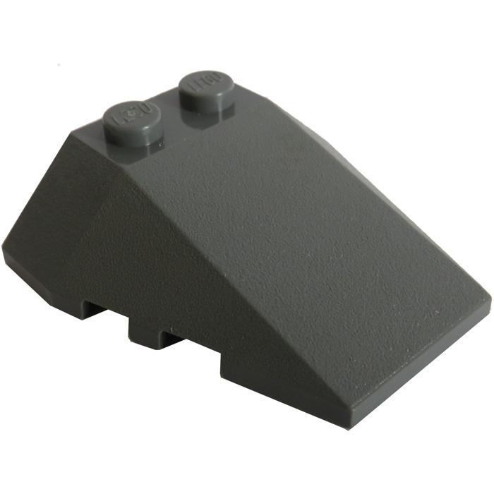 48933 LEGO Parts~ 1 Wedge 4 x 4 Triple w Stud Notches ORANGE
