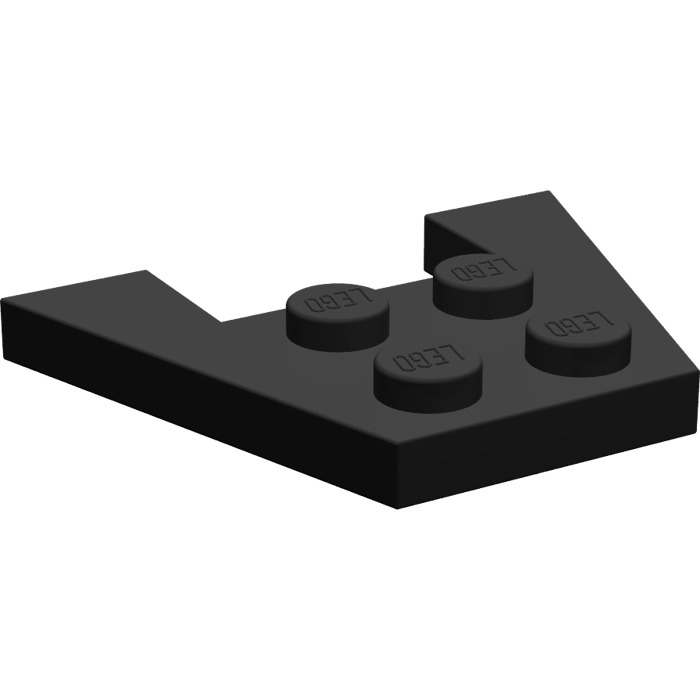 lego wedge plate 3 x 4 without stud notches 4859 brick owl lego marketplace. Black Bedroom Furniture Sets. Home Design Ideas