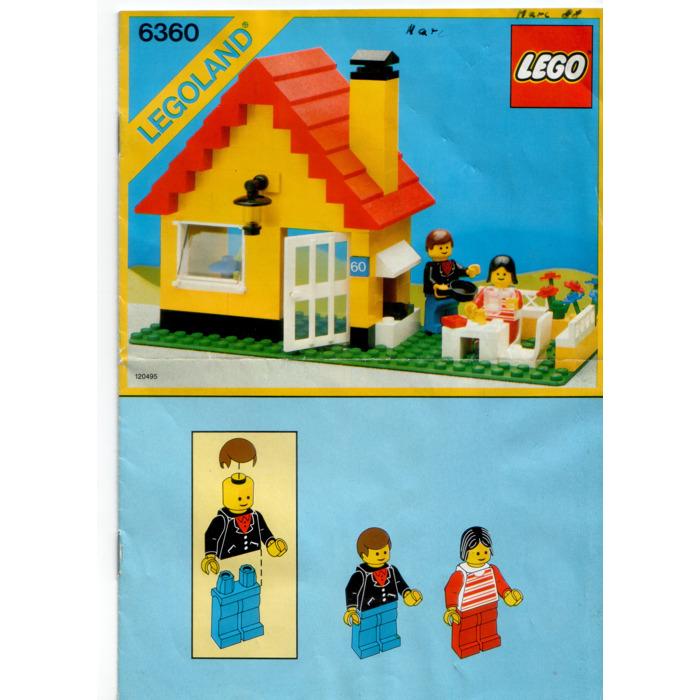 Lego Weekend Cottage Set 6360 Instructions Brick Owl Lego