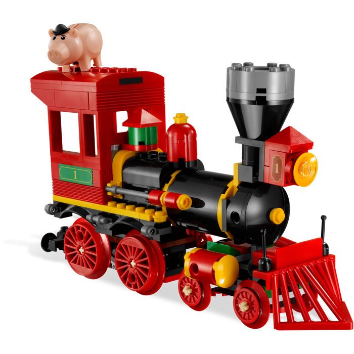Lego Toy 3 : Lego western train chase set brick owl