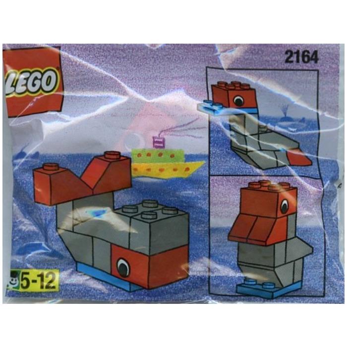 NEW LEGO WHALE SET 2164 christmas stocking stuffer animal building bricks SEALED
