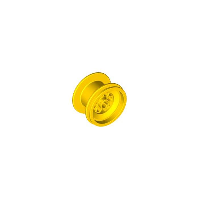 Lego 4x Rim Yellow 6580
