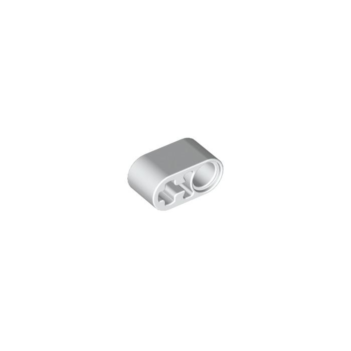 74695 6004888/_LEGO Beam 1x2 W//cross And Hole /_Medium Stone Grey Lot of 10