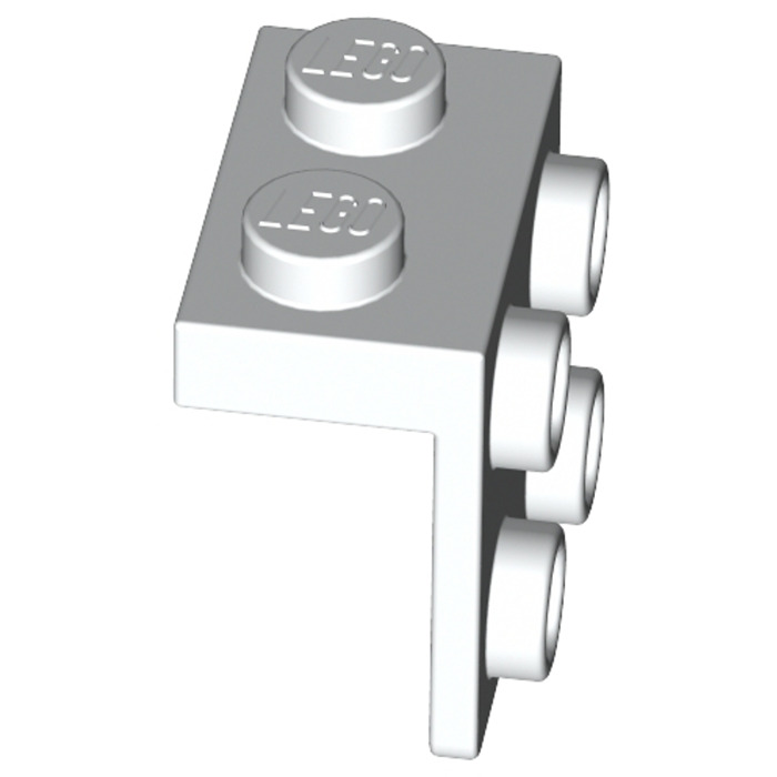 LEGO 10x White Bracket 1 x 2-2 x 2 4277926 44728