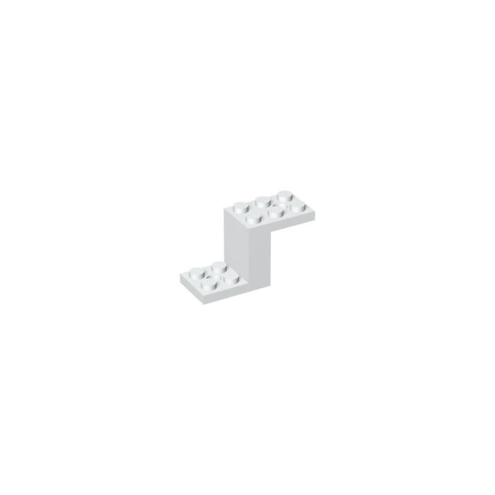 lego white bracket 2 x 5 x without inside stud holder 6087 brick owl lego marketplace. Black Bedroom Furniture Sets. Home Design Ideas