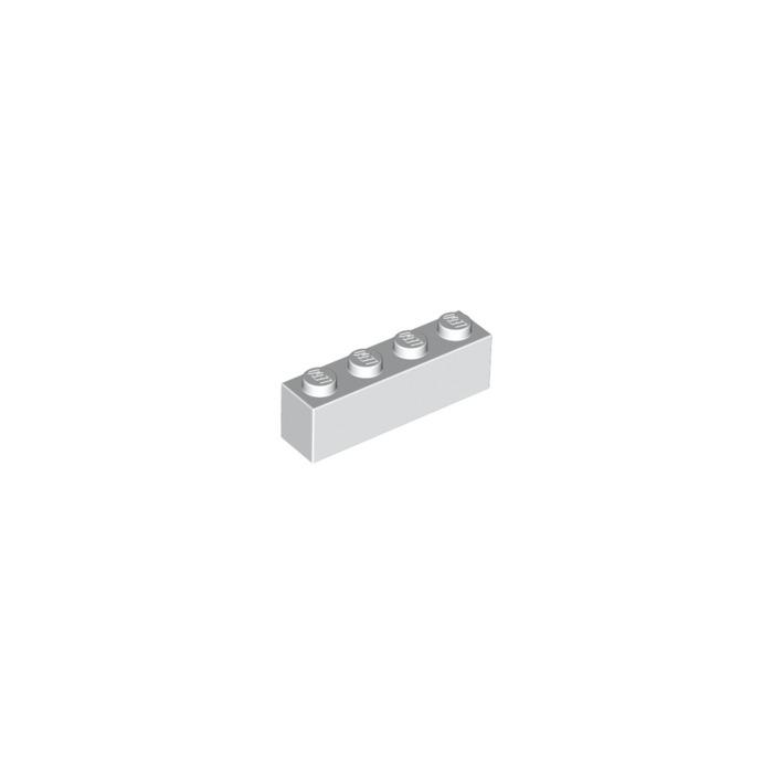 white white Lego 3010 brick 4x brick 1x4 new new