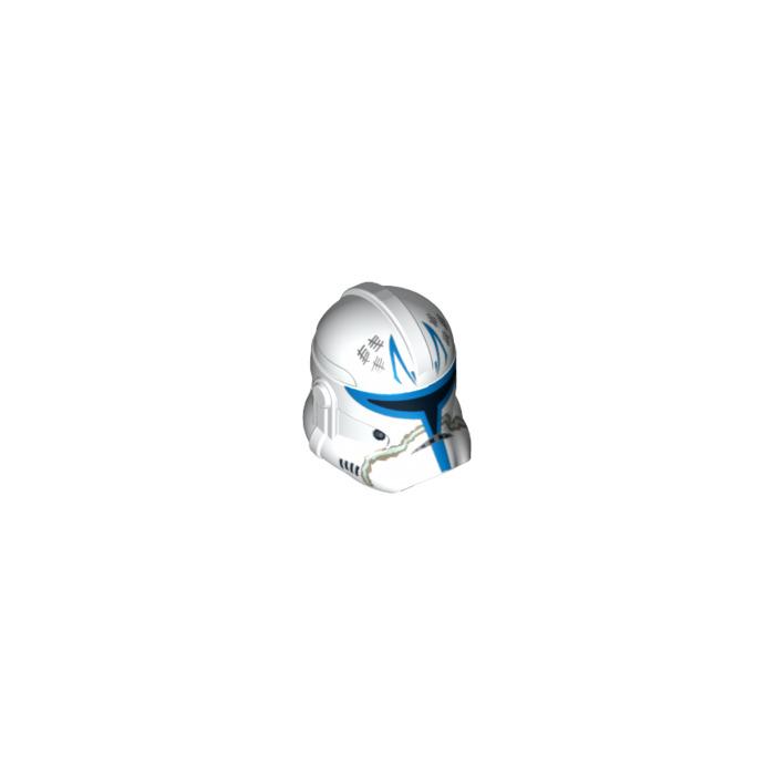 LEGO White Captain Rex Clone Trooper Helmet (13651) | Brick Owl ...