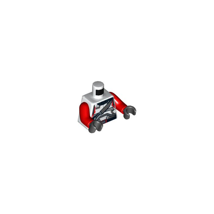 LEGO White Jace Malcom Republic Trooper Torso (76382